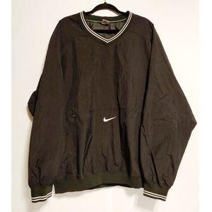 Mens Vintage Nike pullover windbreaker size XXL